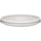 5 Gallon Natural Plain Plastic Lid, UN Rated (P5 Series)