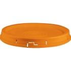 5 Gallon Orange Tear Strip Plastic Pail Lid (P5 Series)