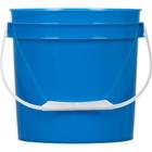 1 Gallon Blue Plastic Pail with Plastic Handle