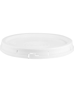 White Tear Strip Plastic Pail Lid (for 3.5, 5 and 6 Gal Pails)