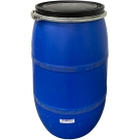30 Gallon Plastic Drum, Reconditioned, Mixed Colors