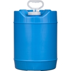 5 Gallon Round Blue HDPE Plastic Tight Head Pail and Cap, 70mm