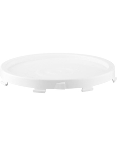 White Twist and Lock Lid, for 3.5, 5 and 6 Gallon Pails, No Gasket