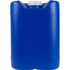 5 Gallon (18L) Blue Plastic Tight Head w'/Cap, 61mm, No Vent Stem