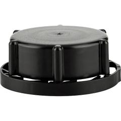 SC-550 50mm Rieke Tamper Evident Black Plastic Cap