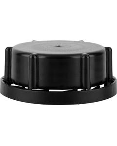 50mm Black Tamper Evident Reike Plastic Cap with TFE Vent