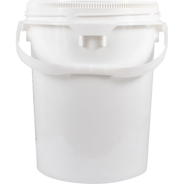 5 Gallon Threaded Plastic Buckets