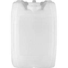 5 Gallon (20L) Natural Plastic Tight Head, Tamper Evident 70mm (6TPI), w/Vent & Dust Cap