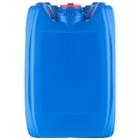 5 Gallon (20L) Blue Plastic Tight Head, Tamper Evident 70mm (6TPI), w/Vent & Dust Cap