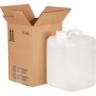 5 Gallon (18L) Natural Plastic Assembled Dekatainer In UN Carton, 63mm, No Vent Stem