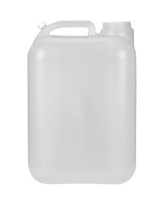 5 Gallon (20L) Natural HDPE Plastic E-Tainer® Tight Head 70mm, Closed Vent Stem