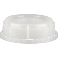 """SC-76RTE-TFE - 70mm (6TPI) Vented Tamper Evident Plastic Buttress Screw Cap with 3/4"""" Threaded Reducer"""