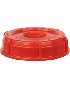 """70mm Buttress Red Screw Cap, 3/4"""" Knock Out, SC76R 6TPI"""