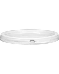 5 Gallon WhiteTear Strip Plastic Pail Lid