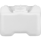 2.5 Liter EZ Pour White HDPE Plastic Tight Head Container, UN Rated