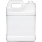 2 Gallon (8L) White HDPE Plastic F-Style Bottle, 38mm 38-400