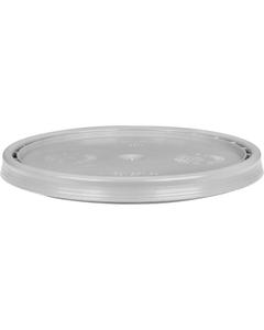 5 Gallon UN Rated Gray Plastic Pail Lid w/Gasket