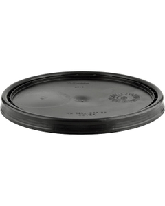 UN Rated Black Plastic Pail Lid (for 3.5, 5 and 6 Gal Pails)