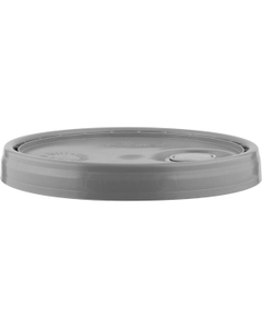 UN Rated Gray Plastic Pail Lid with Rieke Flexspout (for 3.5, 5 and 6 Gal Pails)