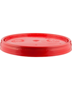 UN Rated Red Plastic Pail Lid (for 3.5, 5 and 6 Gal Pails)