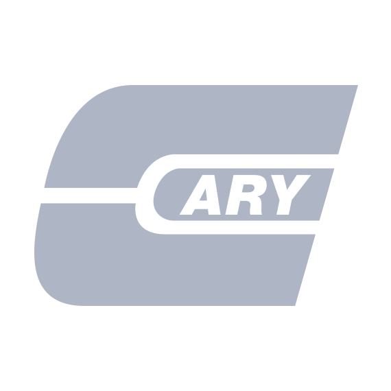 4.25 Gallon White Square Plastic Pail w/Plastic Handle