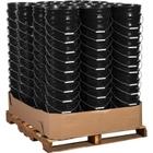 5 Gallon Black Plastic Pail (90 mil), w/ Metal Handle