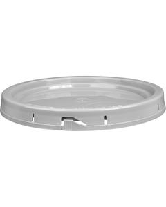 5 Gallon Gray Tear Strip Plastic Pail Lid w/Gasket