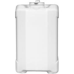 2.5 Gallon (10L) White Plastic Tight Head, Tamper Evident 70mm (6TPI), No Vent Stem