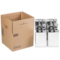6 x 1 Gallon F-Style Hazmat Shipping Box