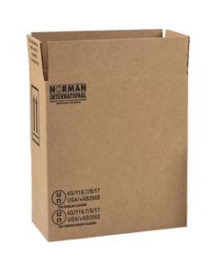 2 x 1 Gallon Plastic Jug Hazmat UN 4G Shipping Box, 275#