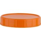 120mm Orange Foam Lined Canister Closure