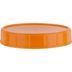 120mm Orange Pressure Sensitive Canister Closure