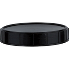 120mm Black Unlined Canister Closure