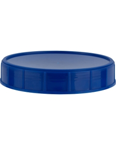 120mm Dark Blue Unlined Canister Closure
