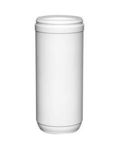 31 oz. Snap Thread White HDPE Towel Wipe Canister, 83mm