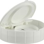 120mm Single Thread White Unlined Spring Towel Wipe Lid