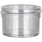 1/2 oz. Clear Plastic Jar, Straight Sided, 43mm 43-400