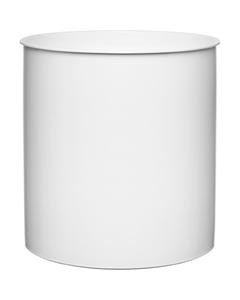 3 lb. (58 fl. oz.) White HDPE Dispenser Bottom Can