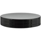58mm 58-400 Black Smooth Plastic Cap w/Foam Liner (3-ply)