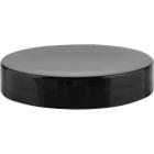 58mm 58-400 Black Smooth Plastic Cap, Unlined