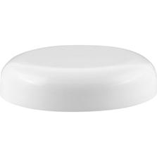 70mm 70-400 White Dome Cap with Pressure Sensitive Liner