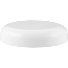 89mm 89-400 White Dome Cap with Pressure Sensitive Liner