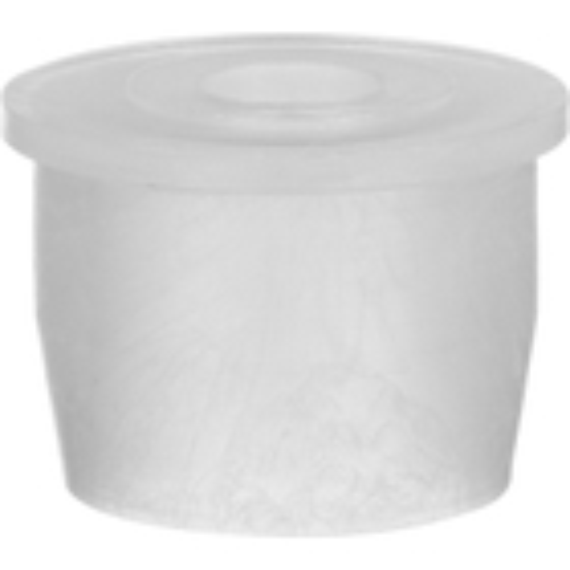 "20mm Natural LDPE Plastic Orifice Reducer Fitment, 0.224"" Orifice"