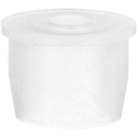 "20mm White LDPE Plastic Orifice Reducer Fitment, 0.224"" Orifice"