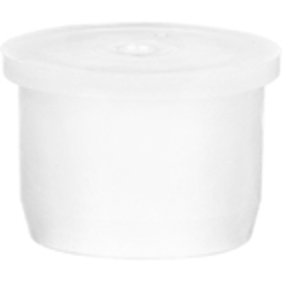 "24mm White LDPE Plastic Orifice Reducer Fitment, 0.109"" Orifice"