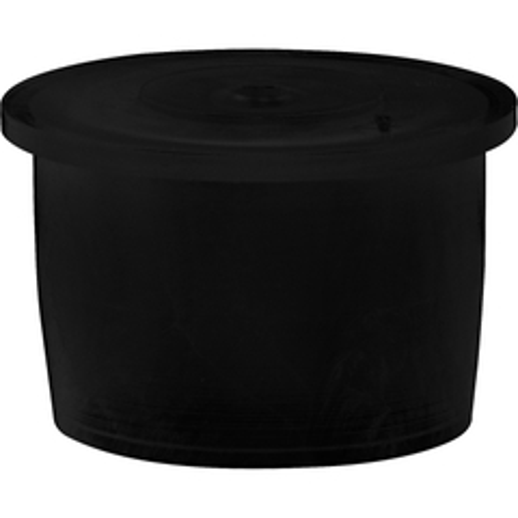 "24mm Black LDPE Plastic Orifice Reducer Fitment, 0.090"" Orifice"