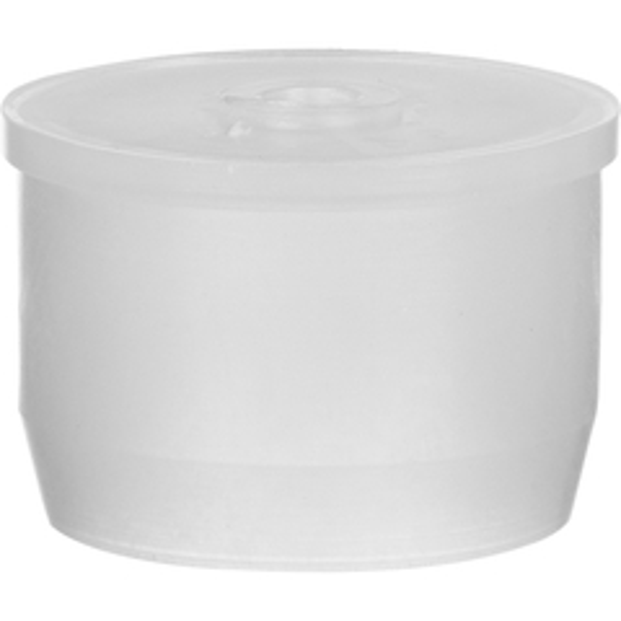 "24mm Natural LDPE Plastic Orifice Reducer Fitment, 0.120"" Orifice"