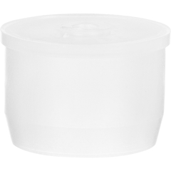 "24mm White LDPE Plastic Orifice Reducer Fitment, 0.120"" Orifice"