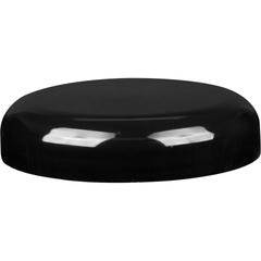 89mm 89-400 Black Plastic Dome Cap w/HIS Foil Liner