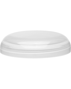 70mm 70-400 Natural Plastic Dome Cap, Unlined